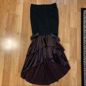 Lip Service Gothic Victorian Steampunk Skirt